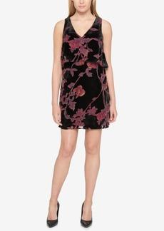 Jessica Simpson Velvet Popover Shift Dress