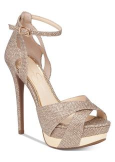 Jessica Simpson Wendah Platform Evening Sandals Women's Shoes