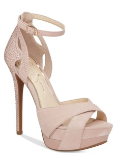 Jessica Simpson Wendah Platform Evening Sandals Women's Shoes