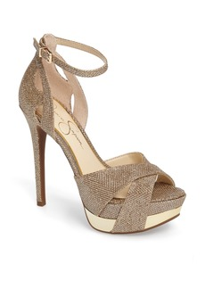 Jessica Simpson Wendah Strappy Platform Sandal (Women)