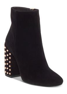Jessica Simpson Wexton Studded Block-Heel Booties Women's Shoes