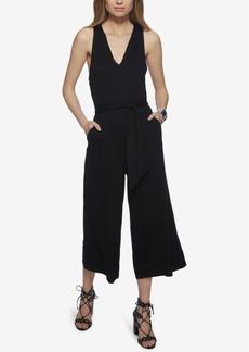 Jessica Simpson Wide-Leg Cropped Gaucho Jumpsuit