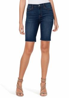 Jessica Simpson Women's Adored Mid Rise Slim Bermuda Short
