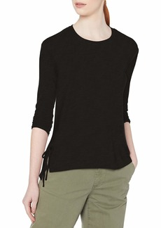 Jessica Simpson Women's Plus Size Ally Hacci Side Tie Knit Top