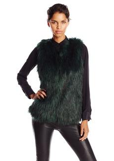 Jessica Simpson Women's Andrea Faux Fur Vest
