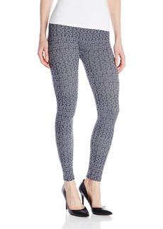 Jessica Simpson Women's Arrow Knit-In Design Seamless Legging  Medium/Large