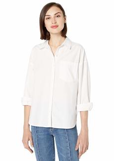 Jessica Simpson Women's Axl Long Sleeve Button Up Shirt