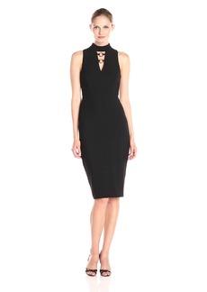 Jessica Simpson Women's Bandage Knit Midi Dress