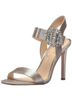 Jessica Simpson Women's Bindy Heeled Sandal  8.5 Medium US