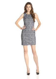 Jessica Simpson Women's Bonded Lace Dress