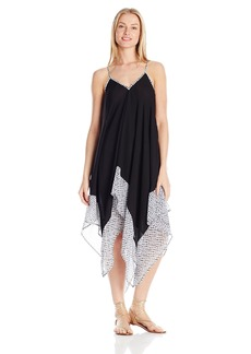 Jessica Simpson Women's Botanica Geo Chiffon Dress Cover up