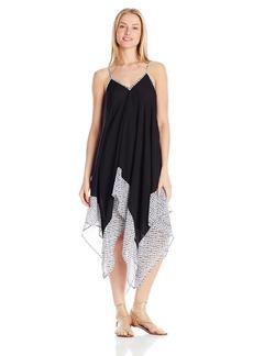 Jessica Simpson Women's Botanica Geo Chiffon Dress Cover Up