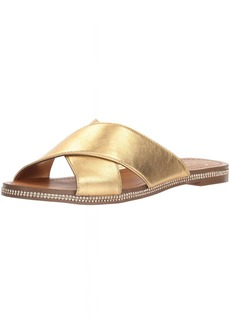 Jessica Simpson Women's BRINELLA Flat Sandal   Medium US