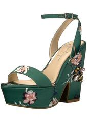 Jessica Simpson Women's Carena Heeled Sandal  5.5 Medium US