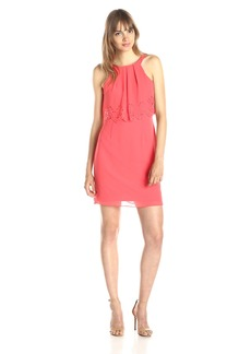 Jessica Simpson Women's Chiffon Popover Dress