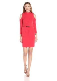 Jessica Simpson Women's Cold Shoulder Dress