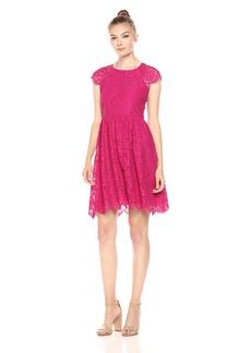 Jessica Simpson Women's Corded Garden Lace Dress