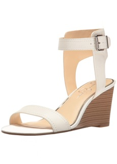 Jessica Simpson Women's Cristabel Wedge Sandal  10 Medium US