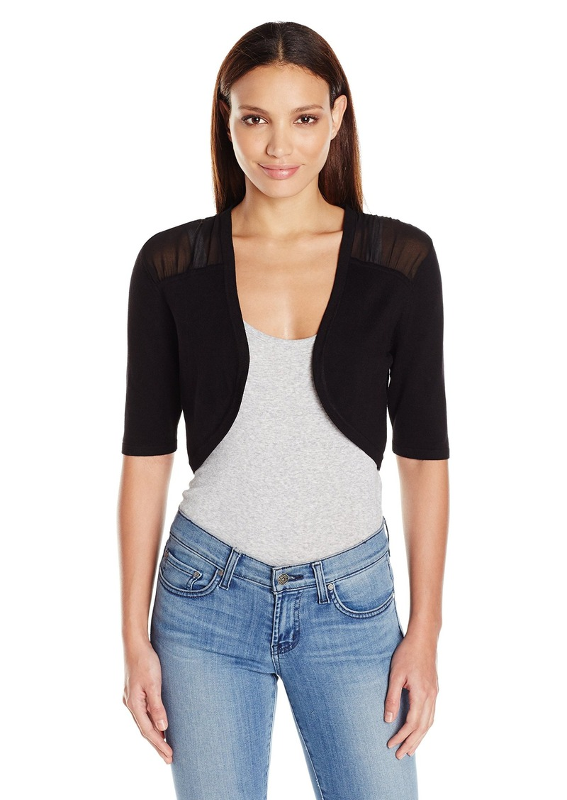 Jessica Simpson Women's Cropped Cardigan  XS