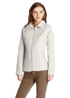 Jessica Simpson Women's Diamond Quilted Jacket  arge
