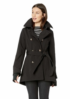 Jessica Simpson Women's Double Breasted Fashion Coat  L