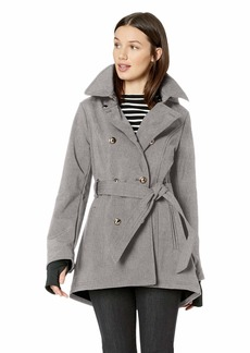 Jessica Simpson Women's Double Breasted Fashion Coat  S