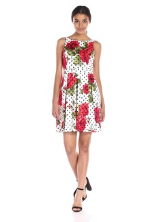 Jessica Simpson Women's ed Bow Back Dress