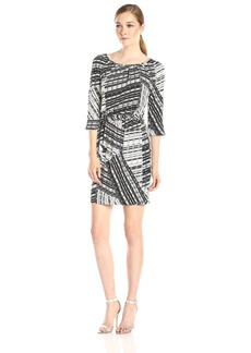 Jessica Simpson Women's ed Faux Wrap Dress