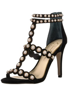Jessica Simpson Women's Eleia Heeled Sandal  8 Medium US