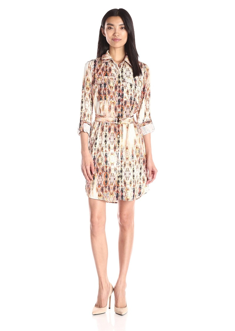 Jessica Simpson Women's Emerson Shirt Dress