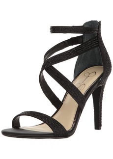 Jessica Simpson Women's Emilyn Heeled Sandal   Medium US