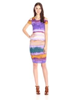 Jessica Simpson Women's Everest Cold-Shoulder Dress