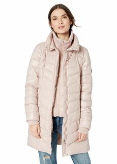Jessica Simpson Women's Fashion Puffer Jacket  L