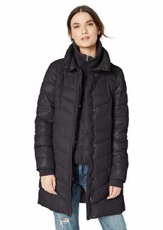 Jessica Simpson Women's Fashion Puffer Jacket  XL