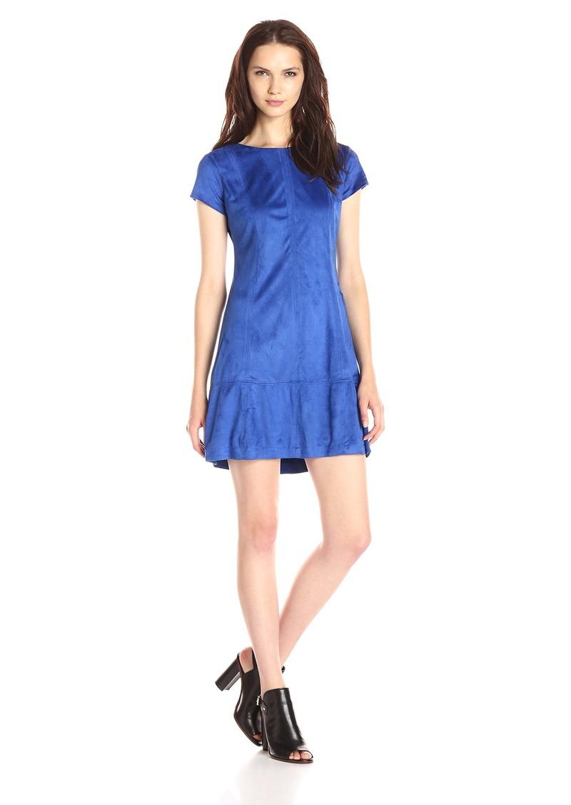 Jessica Simpson Women's Faux Suede Dress