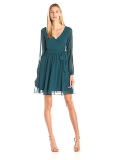Jessica Simpson Women's Faux Wrap Dress