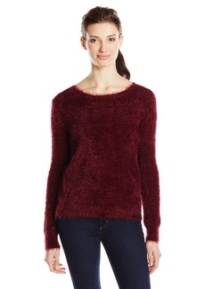 Jessica Simpson Women's Feather Crop Sweater