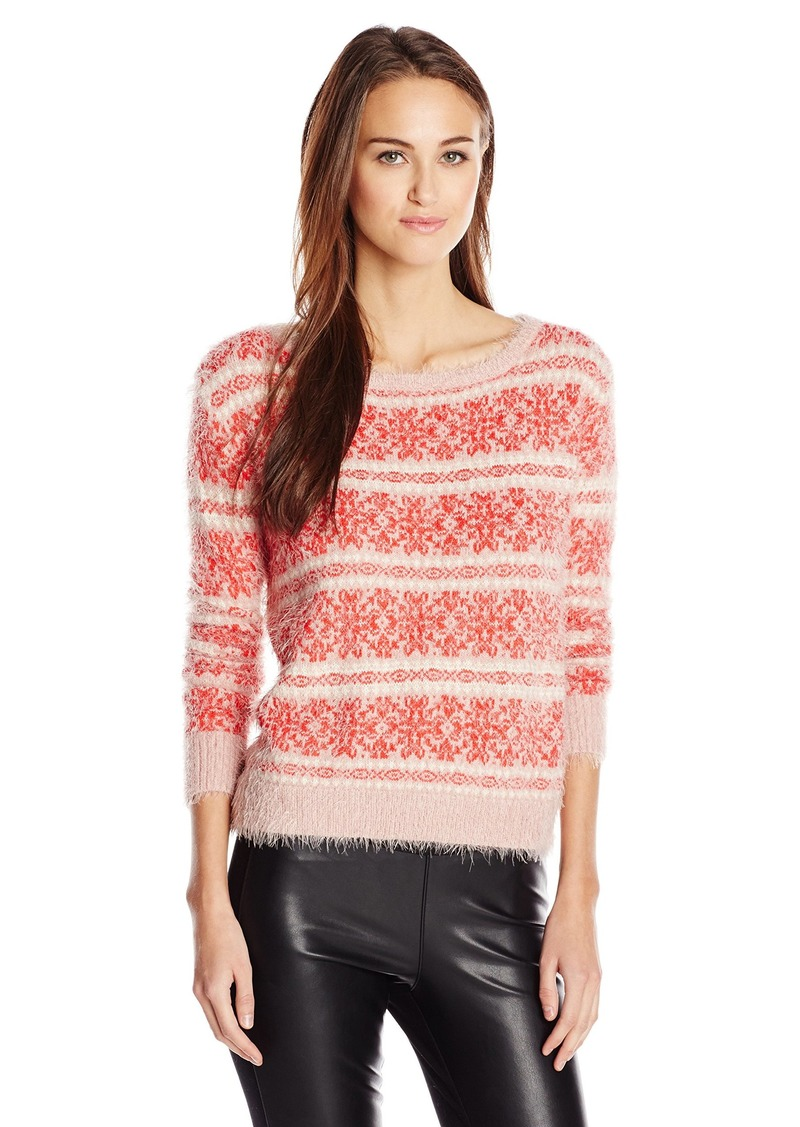 Jessica Simpson Women's Feather Sweater