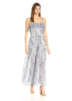 Jessica Simpson Women's Floral Lace Maxi Dress
