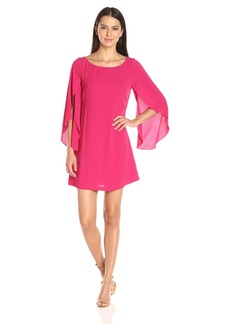 Jessica Simpson Women's Flutter Sleeve Dress