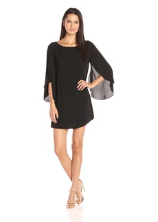 Jessica Simpson Women's Flutter Sleeve Dress