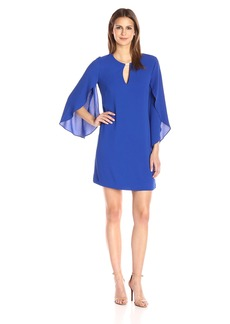Jessica Simpson Women's Flutter Sleeved Cut Out Dress