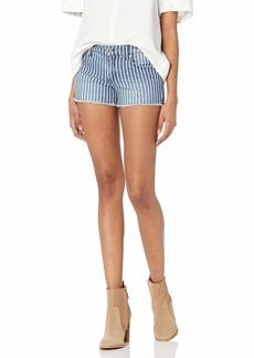 Jessica Simpson Women's Forever Roll Cuff Short   Regular
