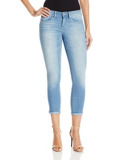 Jessica Simpson Women's Forever Roll Cuff Skinny Crop to Ankle Jean Curzon