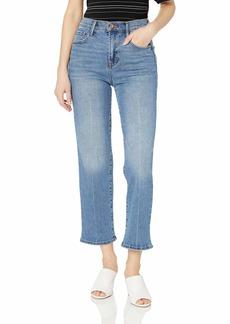 Jessica Simpson Women's Infinite High Waist Straight Leg Crop