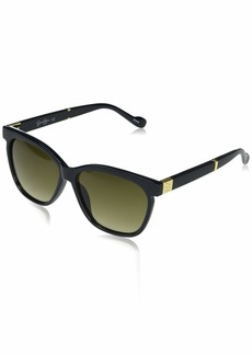 Jessica Simpson Women's J5785 Cool Ombre Cat-Eye UV Protective Sunglasses | Wear Year-Round | Give as a Gift to Her