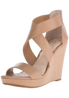 Jessica Simpson Women's Jinxxi Wedge Sandal  9.5 M US