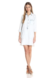 Jessica Simpson Women's Katya Shirt Dress  X Large