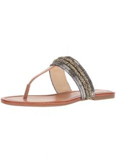 Jessica Simpson Women's Kina Flat Sandal  5.5 Medium US