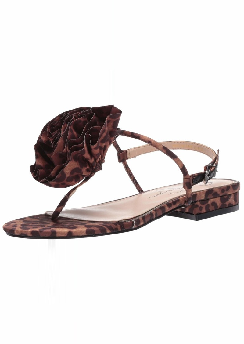 Jessica Simpson Women's Kirah Flat Sandals   M US